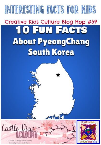 Facts about PyeongChang on CKBH at Castle View Academy