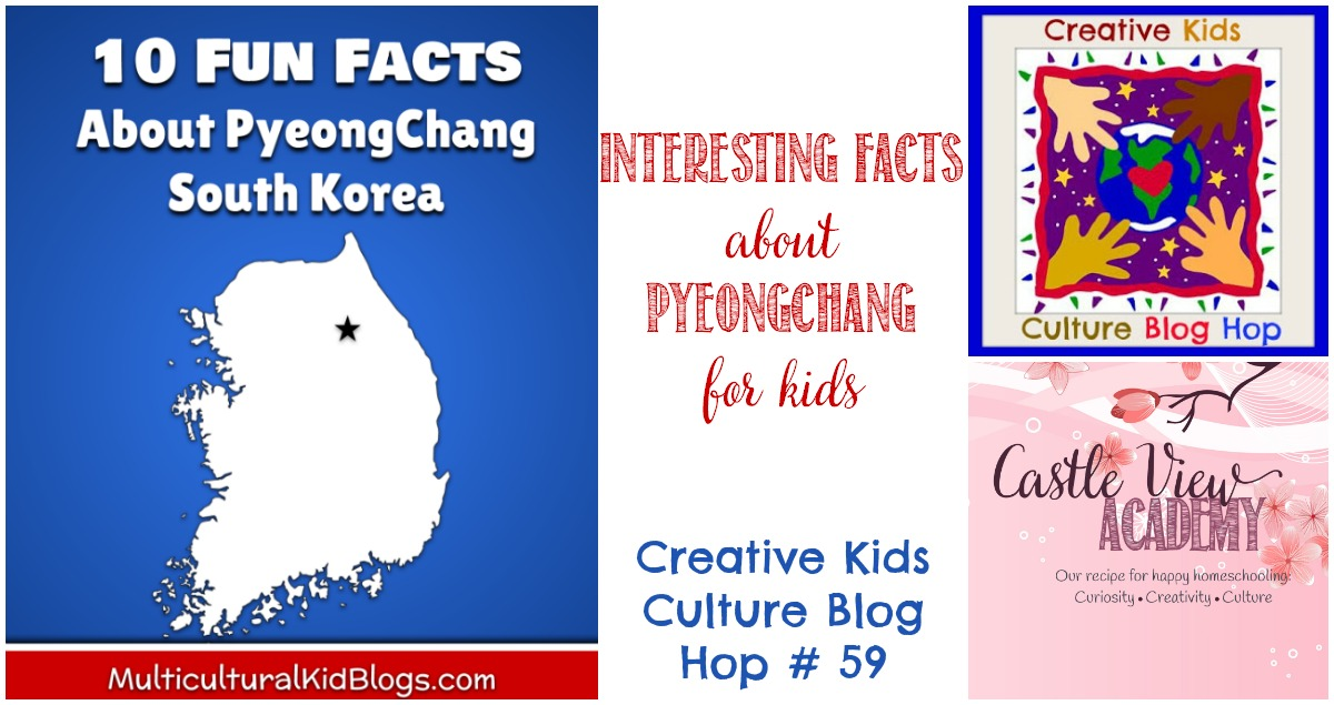 Facts about PyeongChang on CKBH at Castle View Academy homeschool