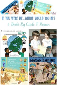 If You Were Me - Where Would You Be - 3 Books By Carole P Roman reviewed by Castle View Academy homeschool