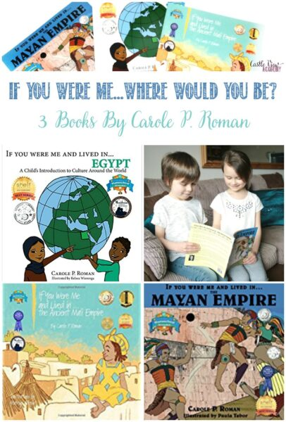 If You Were Me - Where Would You Be - 3 Carole P. Roman books reviewed by Castle View Academy homeschool