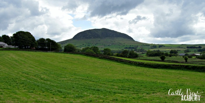 Slemish Mountain, Northern Ireland with Castle View Academy homeschool