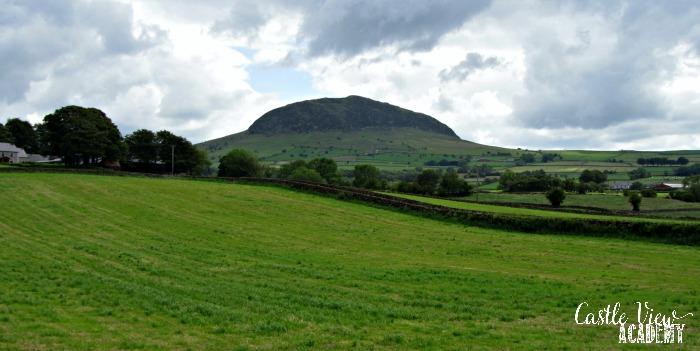 Slemish Mountain, Northern Ireland with Castle View Academy homeschool