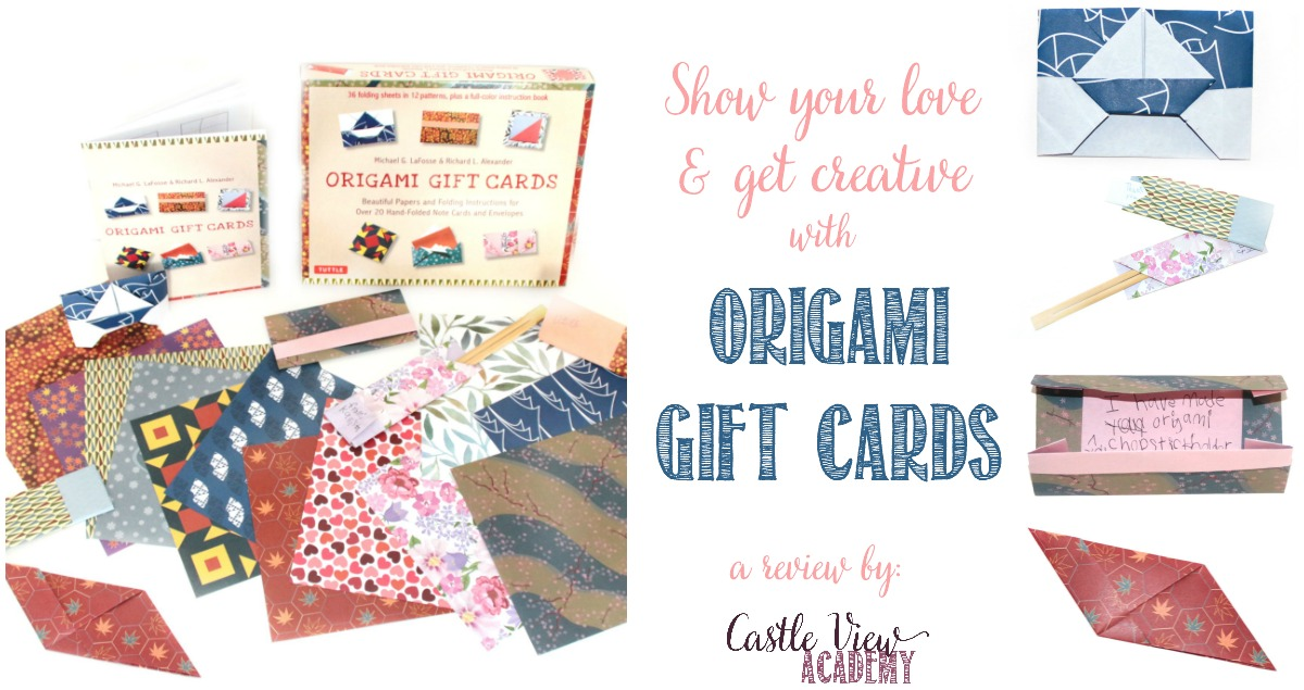 Tuttle Origami Gift Cards for all occassions reviewed by Castle View Academy