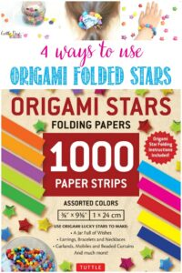 4 Ways To Use Origami Folded Stars with Castle View Academy homeschool