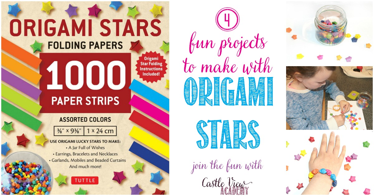 4 Ways To Use Origami Folded Stars with Castle View Academy