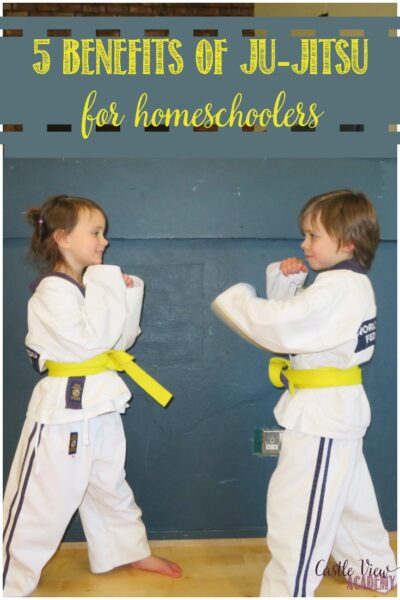 5 Benefits of Ju-Jitsu For Homeschoolers with Castle View Academy homeschool