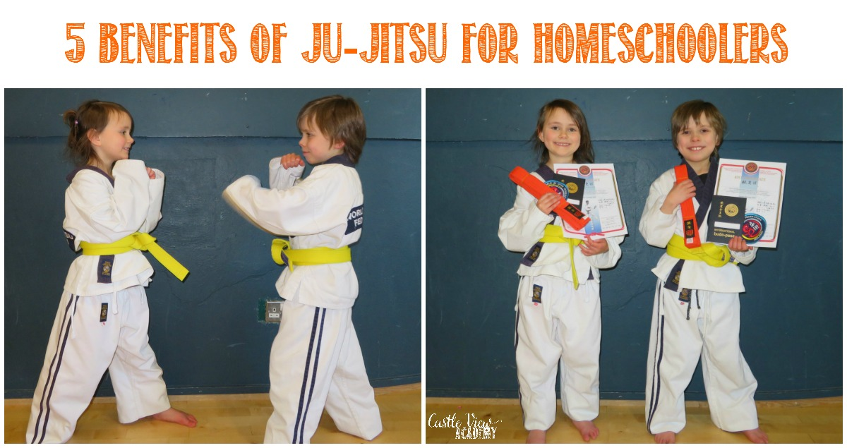 5 Benefits of Ju-Jitsu For Homeschoolers with Castle View Academy