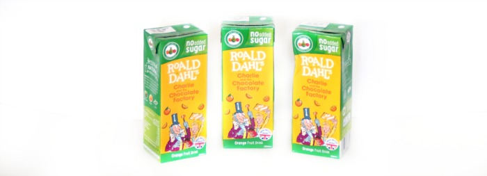 Appy Kids Co Roald Dahl Fruit Drinks