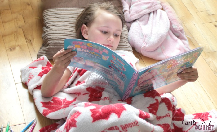 Castle View Academy has some quiet time with Smiggle