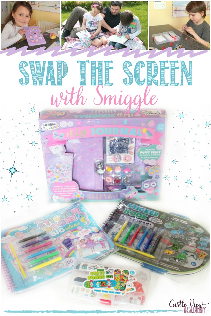 Swap The Screen With Smiggle's creative products; there's something fun for everyone! #screenfree #swapthescreen #betterattitudes #becreative