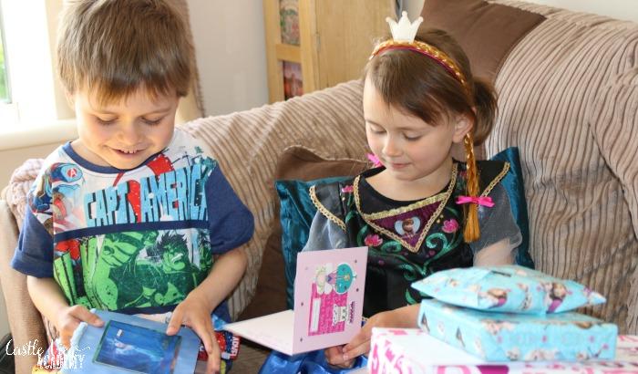 Kallista's 5th birthday at Castle View Acdemy homeschool