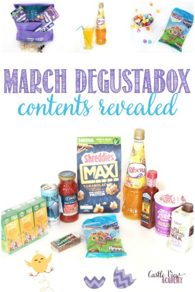 March Degustabox Revealed at Castle View Academy