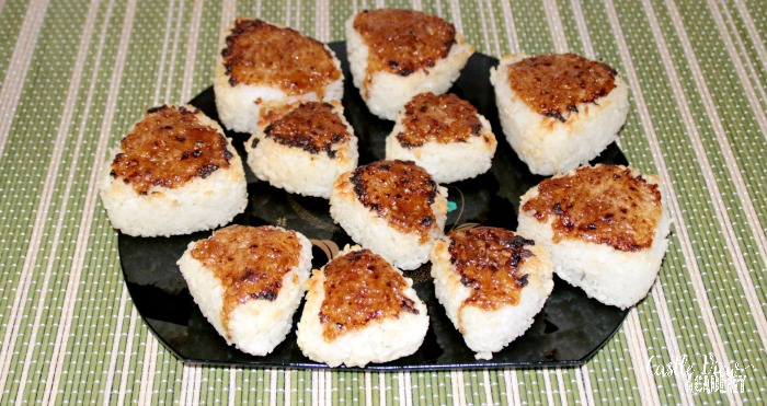 Miso Glazed Onigiri at Castle View Academy from Cook's Guide To Japan