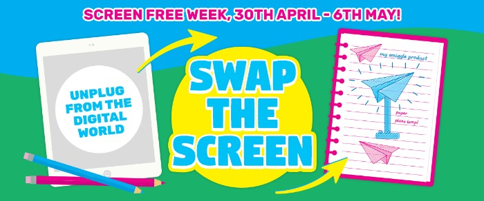 Smiggle Swap the screen