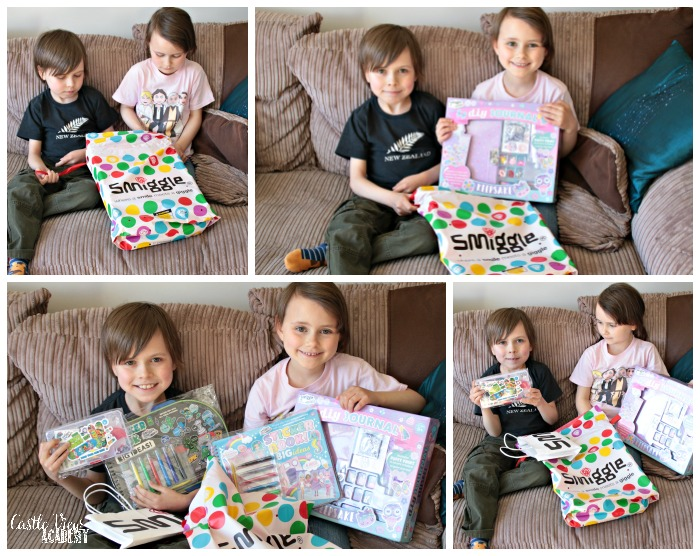 Smiggle gifts for screen free week at Castle View Academy homeschool