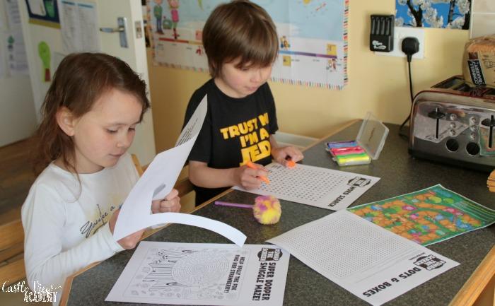 Smiggle's swap the screen downloads at Castle View Academy homeschool