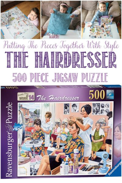 The Hairdresser; Putting The Pieces Together With Style at Castle View Academy homeschool