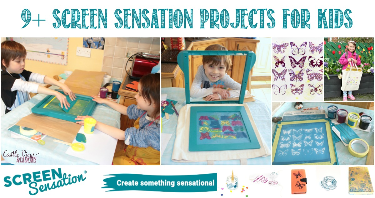 9+ Screen Sensation Projects For Kids at Castle View Academy