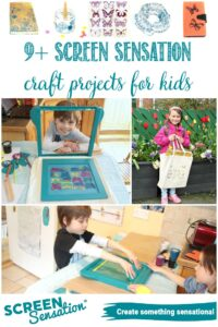 9+ Screen Sensation Projects For Kids at Castle View Academy homeschool
