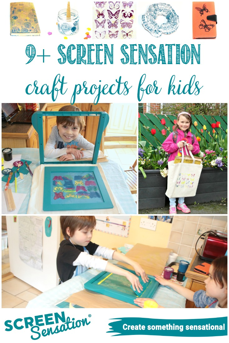 Have you caught the Screen Sensation bug yet?  Over the past few weeks the children and I have been having some fun getting acquainted with it.  So far we've come up with 9+ projects, and I have many more in mind (see our list here)!