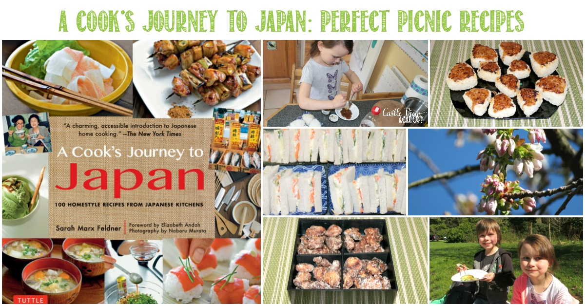 A Cook's Journey to Japan, Perfect Picnic Recipes with Castle View Academy homeschool