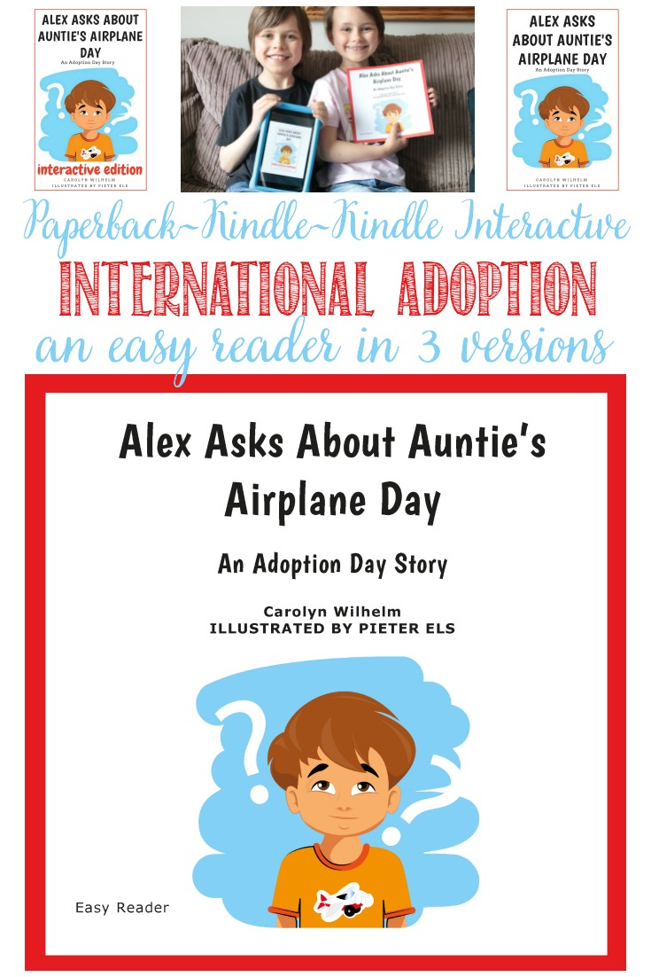 Alex Asks About Auntie's Airplane Day: An Adoption  Day Story #adoption #airplaneday #adoptionday #gotchaday