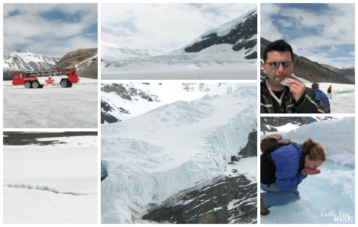 Castle View Academy at the Columbia Icefield in Canada