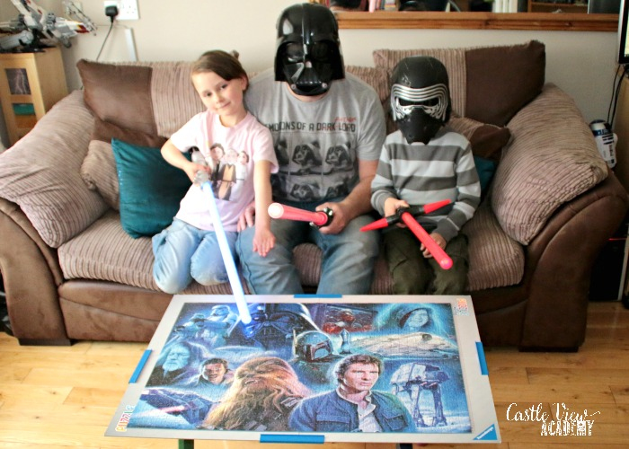 Castle View Academy has finished the Star Wars Puzzle