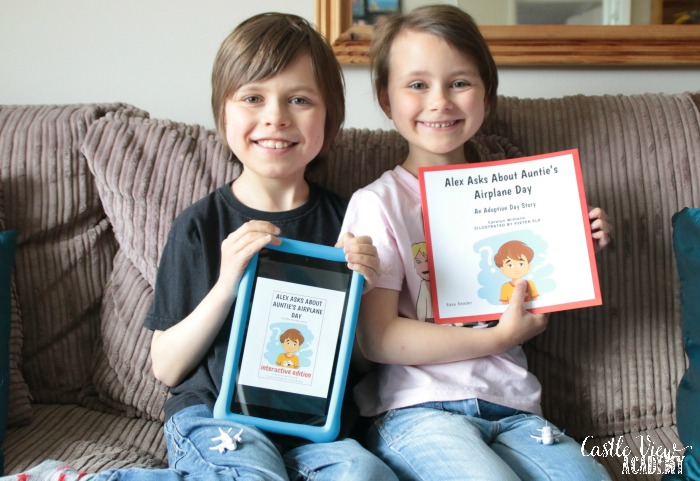Castle View Academy homeschool enjoying books by Carolyn Wilhelm