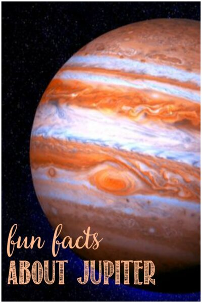 Fun Facts About Jupiter at Castle View Academy