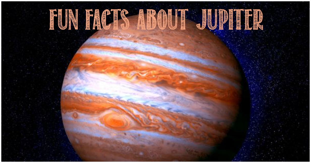 Fun Facts About Jupiter at Castle View Academy homeschool