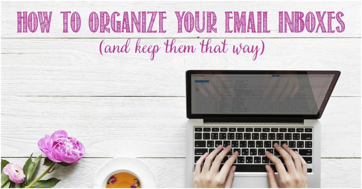 How to organize your email and keep it that way with Castle View Academy