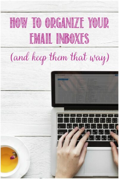 How to organise your email inbox and keep it that way with Castle View Academy