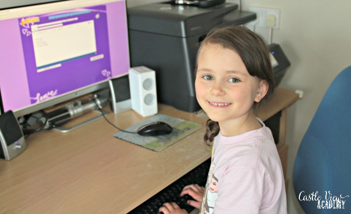 KidsEmail is a great way to keep in touch with seas family at Castle View Academy