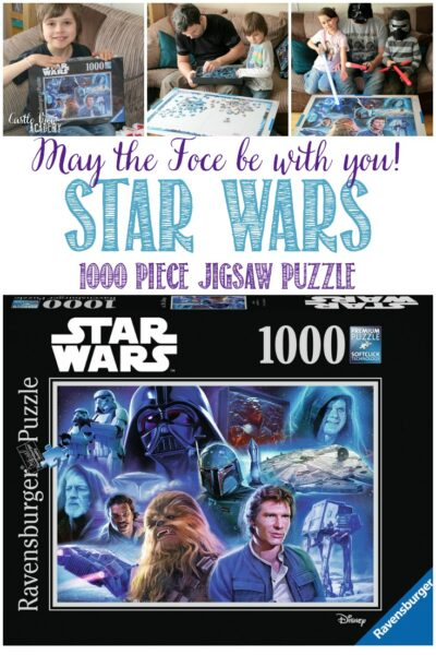 The Empire Stikes Back Star Wars Puzzle at Castle View Academy homeschool