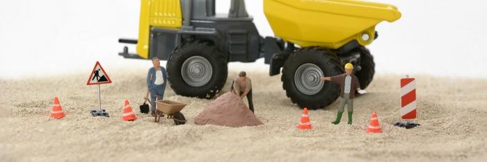 build a construction site