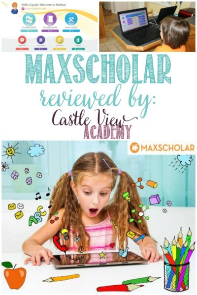 Castle View Academy Homeschool reviews MaxScholar