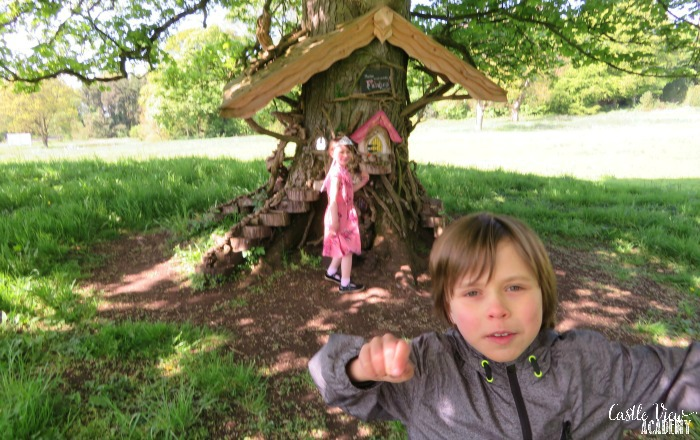 Castle View Academy believes in fairies at Galgorm Castle