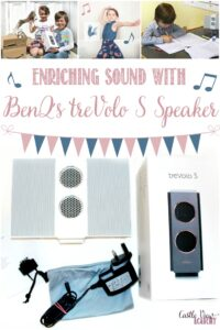 Castle View Academy homeschool enjoys enriching sound with a BenQ treVolo S Speaker