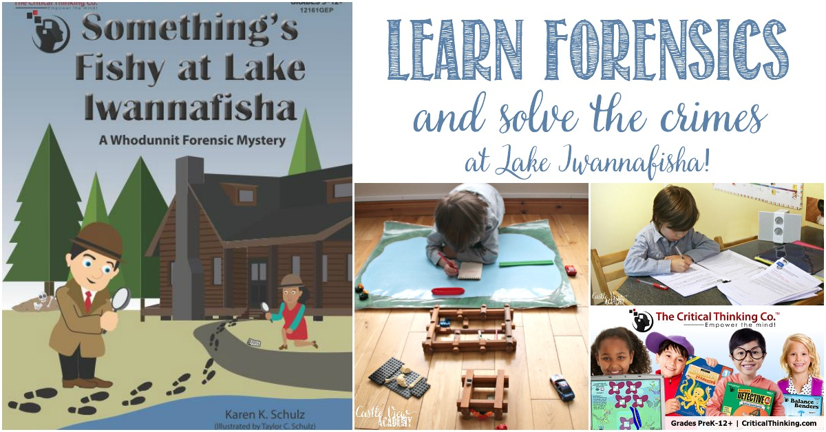 Castle View Academy homeschool reviews Something's Fishy at Lake Iwannafisha, a forensics mystery by the Critical Thinking Co