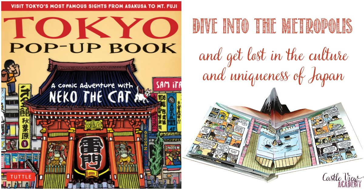 Castle View Academy homeschool reviews Tokyo Pop-Up Book