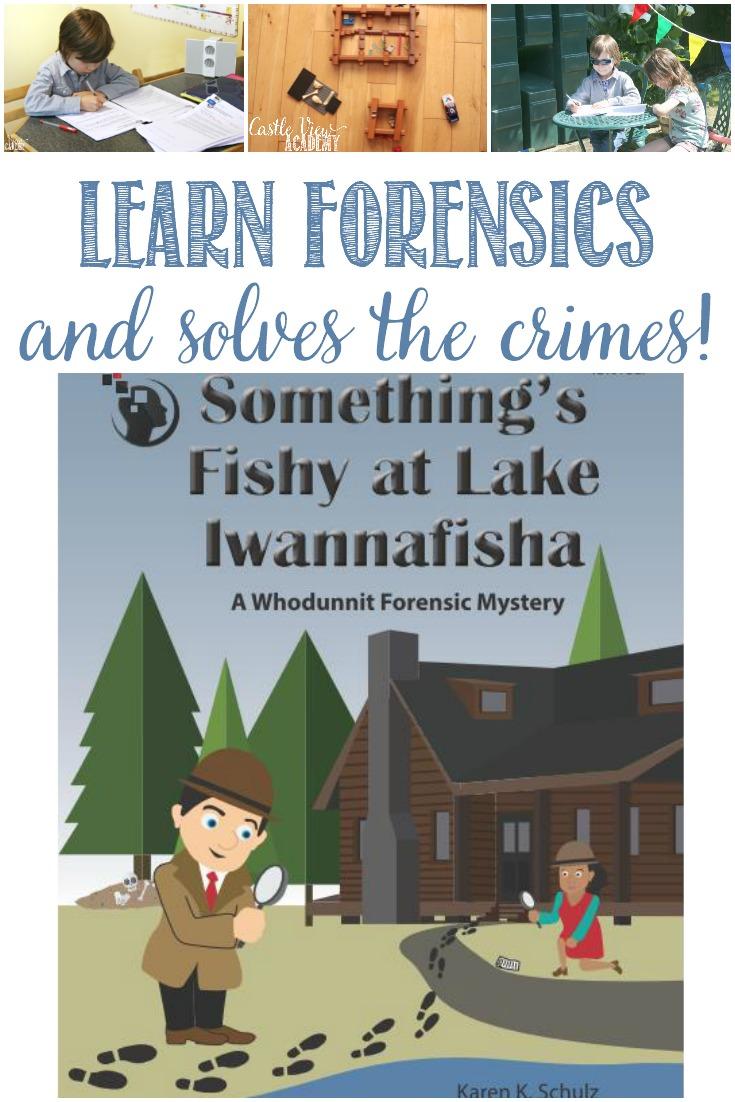 Something Fishy at Lake Iwannafisha: A Forensics Mystery