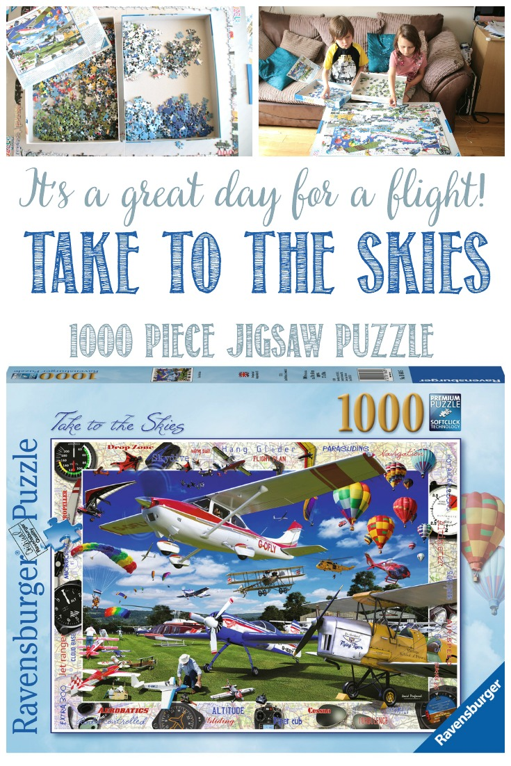 Take To The Skies; It's a Great Day To Fly With Ravensburger