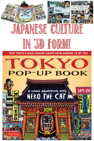 Castle View Academy reviews Tokyo Pop-Up Book