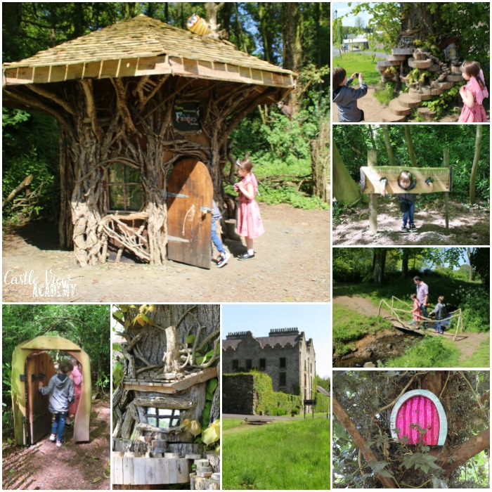 Castle View Academy visits Galorm Castle Fairy Trail