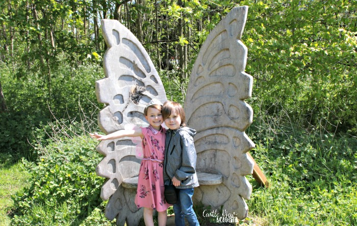 Galgorm Castle Fairy Trail starts for Castle View Academy