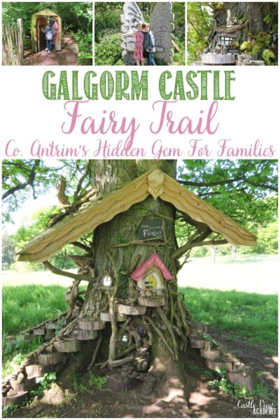 Northern Ireland's Galgorm Castle's Fairy Trail is loved by Castle View Academy homeschool