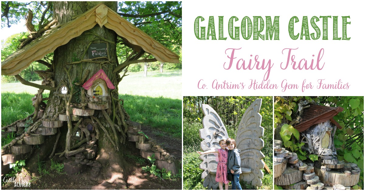 Galgorm Castle's Fairy Trail loved by Castle View Academy homeschool