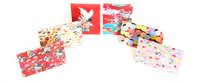 Kimono note cards by Tuttle Publishing