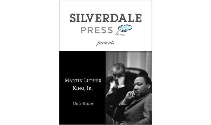 Martin Luther King Jr Unit Study Review at Castle View Academy homeschool